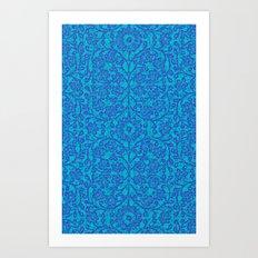 ANCIENT FLORA 3 Art Print