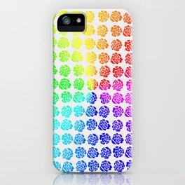 Roses pattern VI iPhone Case