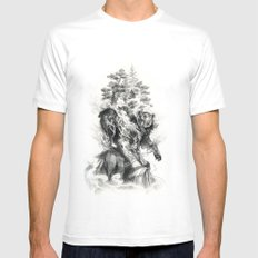 Lapsang Souchong MEDIUM White Mens Fitted Tee