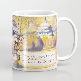 Vintage poster - Woman Suffrage Procession Coffee Mug