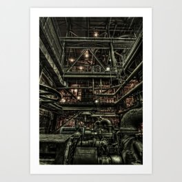More Power To The Grid Art Print