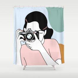 Photographer Shower Curtain