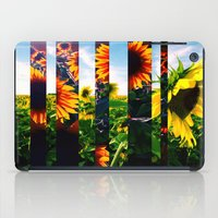 maryland iPad Cases featuring Sunflowers in Maryland by kpatron