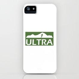 Ultra Running iPhone Case