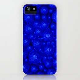 Dandelion in the dark iPhone Case