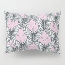 Butterfly hairpin 1900 #5 Pillow Sham