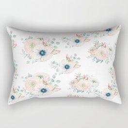 Dog Rose Pattern 2 Rectangular Pillow