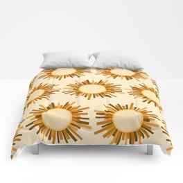 Art Deco Starburst Comforters