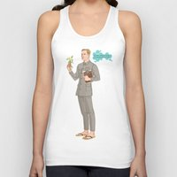 david olenick Tank Tops featuring DAVID by Pulvis