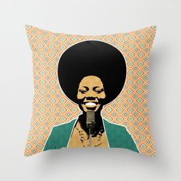 The Soul Diva Throw Pillow