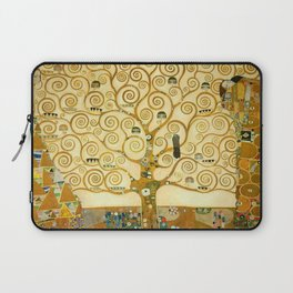 "Gustav Klimt ""Tree of life"" Laptop Sleeve"