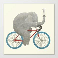 Ride (colour option) Canvas Print