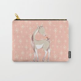 Sweet deer with robin Carry-All Pouch