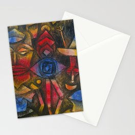 Collection of Figurines by Paul Klee, 1926 Stationery Cards