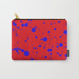 310001 Red and Blue Painting Carry-All Pouch