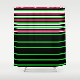 Bright Stripes II Shower Curtain
