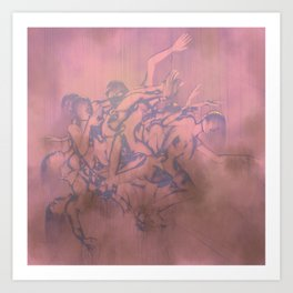 Sleep Paralysis 37, Chroma Plat Art Print