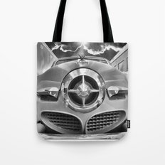 Studebaker and Trains Tote Bag