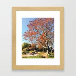 Banpaku Kinen Koen Framed Art Print