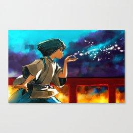 The Dragon Boy Canvas Print