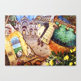 Fernweh Canvas Print