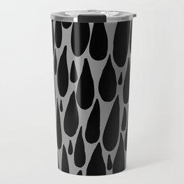tears in black and grey Travel Mug