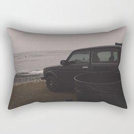 Dreamy Beach Rectangular Pillow