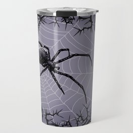 Briar Web - Gray Travel Mug