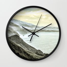 Somewhere over Big Sur. Wall Clock