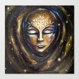 Cosmic Spiritual Birth Canvas Print