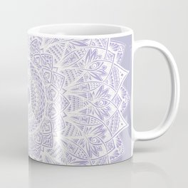 The Sunflower (purple) Coffee Mug