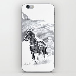 Trotting Up A Storm iPhone Skin