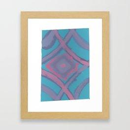 17 - Reverberated Inconsistencies Framed Art Print