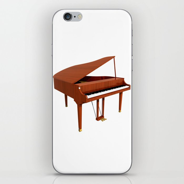 Grand Piano with Wood Finish iPhone Skin