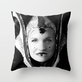 Cecile is the Queen Throw Pillow