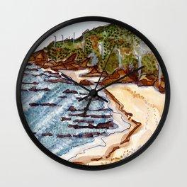 Cabo Mondego, Portugal Wall Clock