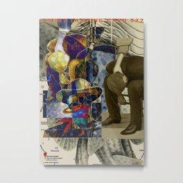 Artist Trading Card 027 Metal Print