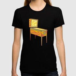 Retro games pinball machine T-shirt