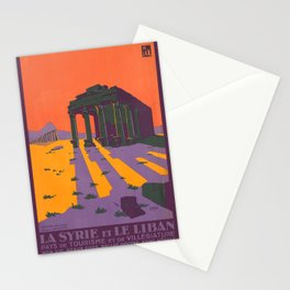Vintage poster - Syria Stationery Cards