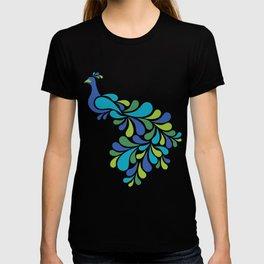 Retro Peacock T-shirt