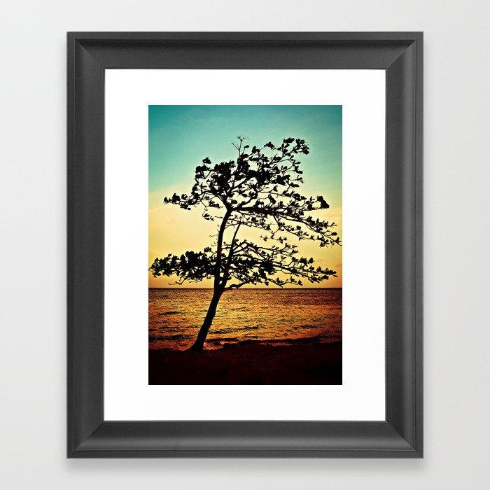 Paradise Tree Framed Art Print