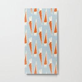 Carrots Malibu Metal Print