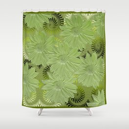 Green Haven Shower Curtain