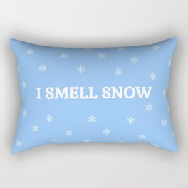 The Snow Lover Rectangular Pillow
