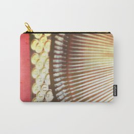 Typewriter photograph print. Remy. Carry-All Pouch