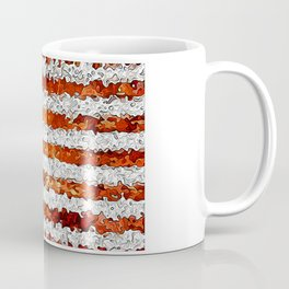 American Flag Abstract Coffee Mug