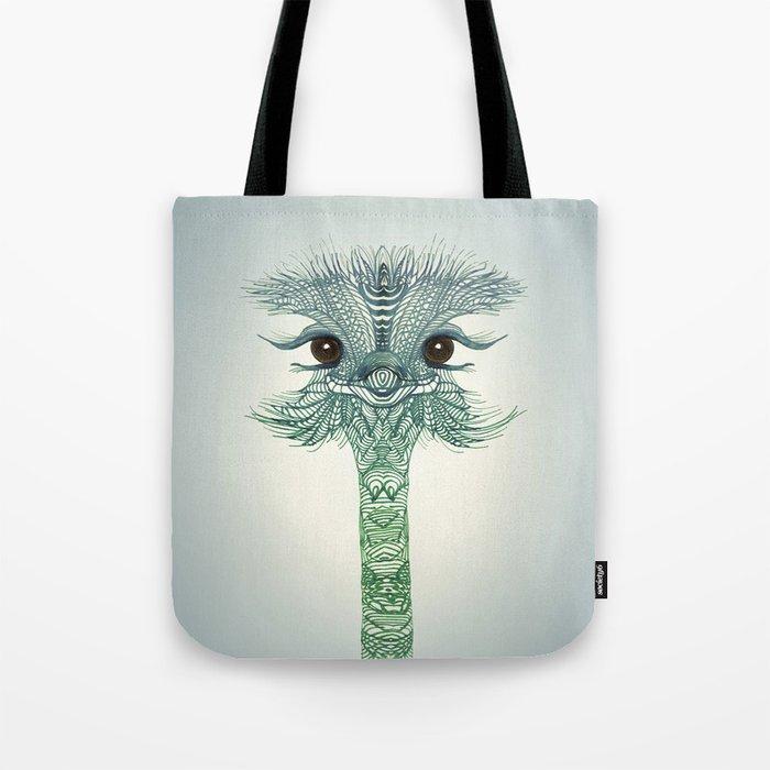 Ostrich  Tote Bag