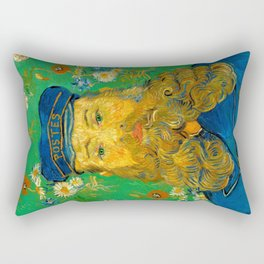 Vincent van Gogh - Portrait of Postman Rectangular Pillow