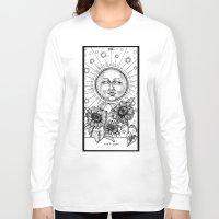 tarot Long Sleeve T-shirts featuring Sun Tarot by Corinne Elyse