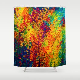 Joseph's Coat Trees Shower Curtain